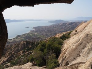 Besparmak mountain lake bafa hike