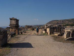 Necropolis in Hierapolis