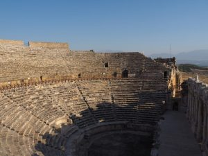 Great theatre in Hierapolis