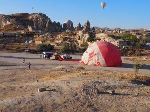 Cappadocia hot air balloon flight