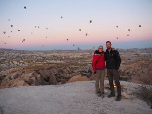 Rose valley hot air balloons