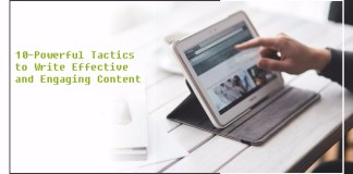 Write effective and engaging content
