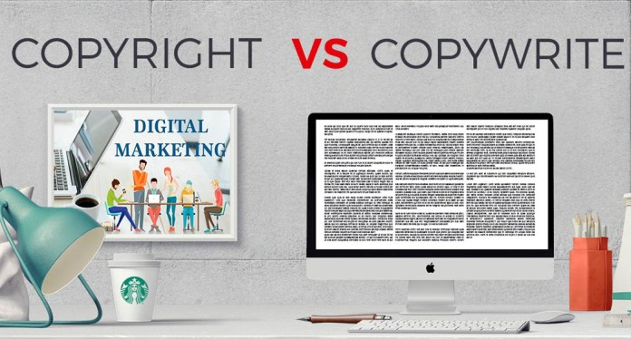 Copywriting vs. Copyrighting