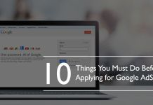 Things To Do Before Applying Adsense Feature Image