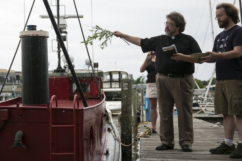 Blessing of the tug