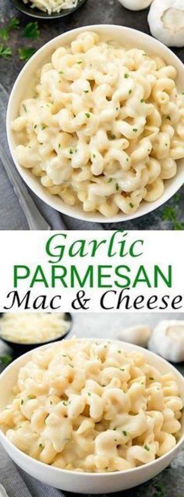 Mac And Cheese Recipes: Garlic Parmesan Mac & Cheese