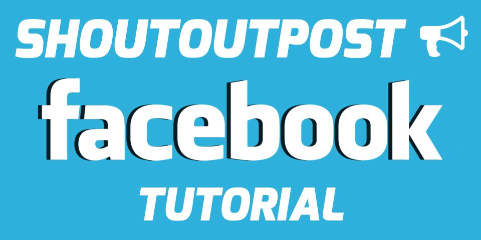 ShoutoutPost Facebook Shoutout Trading Tutorial