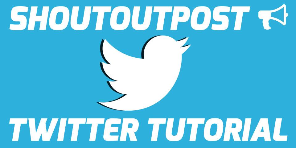 ShoutoutPost Twitter Shoutout Trading Tutorial