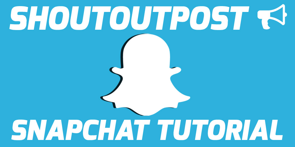 ShoutoutPost Snapchat Shoutout Trading Tutorial