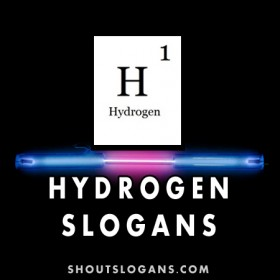 Hydrogen Slogans