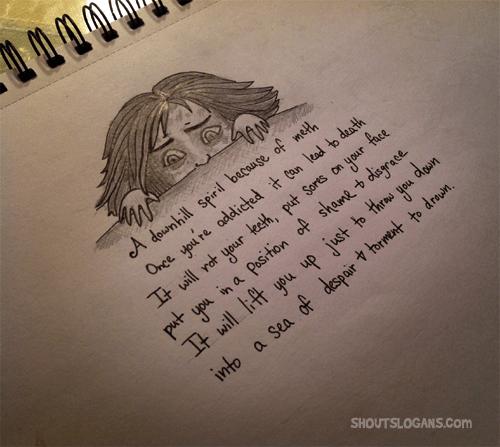 anti-meth-poem