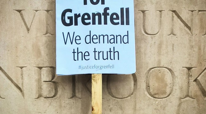 Lowkey reminds us that Grenfell victims are still fighting for justice