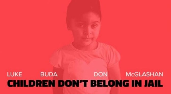 """Children Don't Belong in Jail"": new protest song from Luke Buda and Don McGlashan"