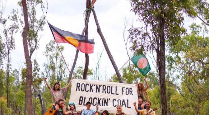 """Rock n Roll For Blocking Coal"" – Compilation Album Vs. Coal Mines And Corrupt Old Ways"