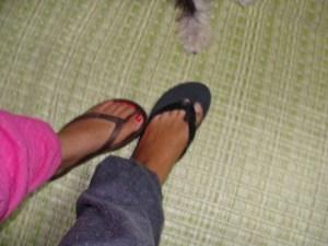奄美大島のゲストハウス「昭和荘」スタッフの足