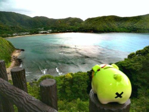 奄美大島南部・マネン崎展望所