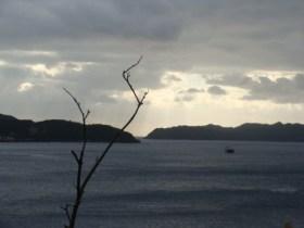 奄美南部瀬戸崎灯台から見る東の空