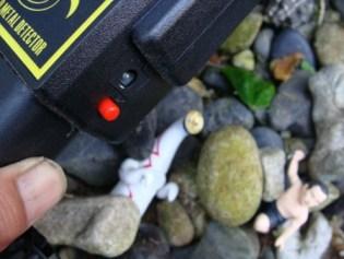昭和荘のレンタル品・金属探知機