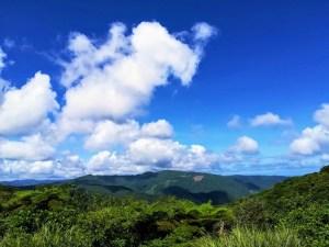 奄美・高知山展望台からの眺め