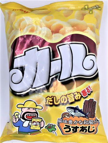 明治 カール うすあじ 懐かしいお菓子 japanese-nostalgia-snacks-meiji-karl-usu-taste