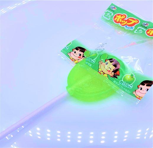 不二家 ポップキャンディ 棒付きキャンディ 懐かしいお菓子 japanese-nostalgia-candy-fujiya-pop-candy-lollipop-candy