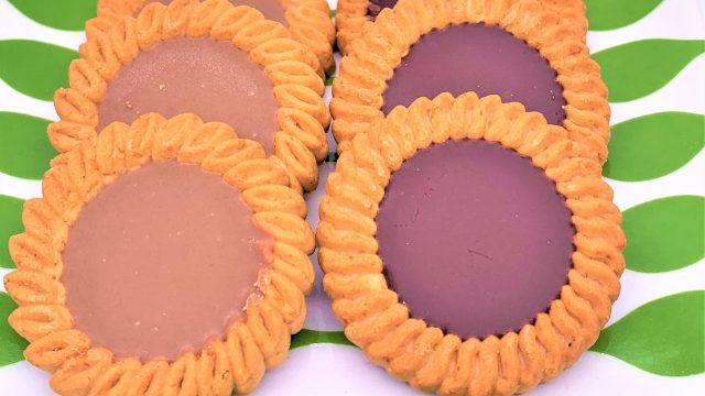 ブルボン チョコ&コーヒービスケット 懐かしいお菓子 japanese-nostalgia-snacks-bourbon-choco-and-coffee-biscuits