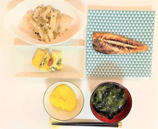 昭和おばさんの手作り夕食2 japanese-modest-meal-middle-aged-handmade-dinner-2