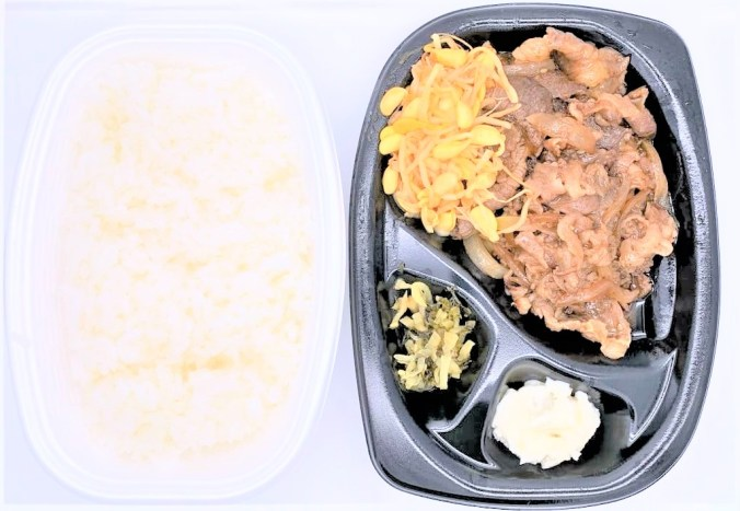 ほっともっと Wカルビ焼肉弁当 肉2倍 テイクアウト お持ち帰り 2020 japanese-fast-food-hottomotto-w-karubi-yakiniku-bento-double-meat-grilled-boneless-short-rib-beef-meat-2020-takeout
