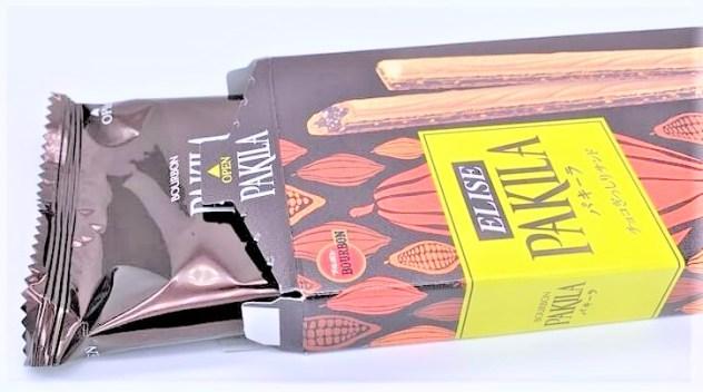 ブルボン パキーラ エリーゼ チョコぎっしりサンド お菓子 2020 japanese-snack-bourbon-pakila-elise-chocolat-wafer-2020