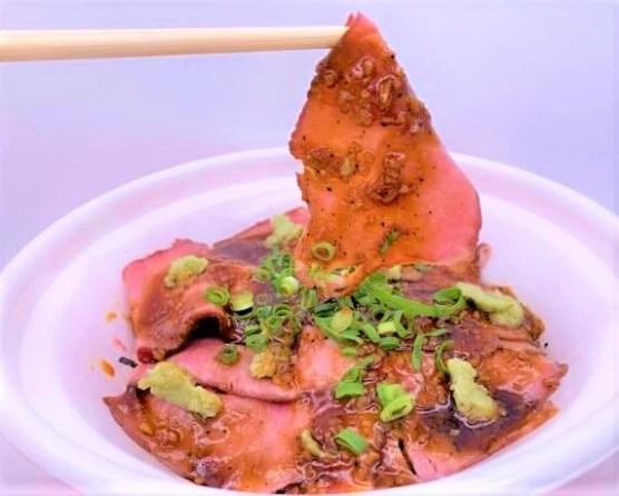 なか卯 ローストビーフ丼弁当 並盛 お持ち帰り 2020 2021 期間限定 japanese-fast-food-nakau-roast-beef-bento-2020-2021-to-go
