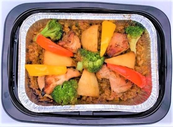大戸屋 焼きドライカレー お弁当 テイクアウト クリスマス 2020 japanese-chain-restaurant-ootoya-curry-pilaf-grill-it-over-the-charcoal-2020-to-go