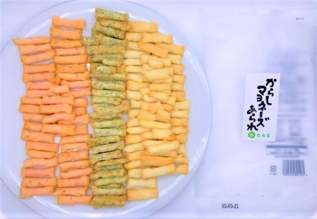 もち吉 からしマヨネーズあられ 袋 お菓子 2021 japanese-snacks-mochikichi-spicy-mayonnaise-flavored-rice-cracker-2021