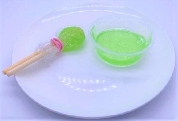 やおきん ねりあめ カップ入 割り箸付き 懐かしい駄菓子 2021 japanese-nostalgia-candy-yaokin-neriame-2021