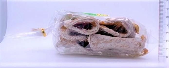 長崎県 三喜屋 生姜せんべい 透明の巾着袋 懐かしいお菓子 2021 japanese-nostalgia-snacks-mikiya-shoga-senbei-ginger-flavored-cracker-2021