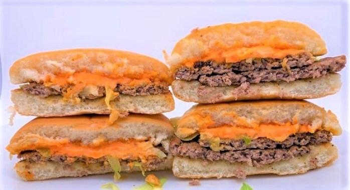 マクドナルド スパビー スパイシービーフバーガー ちょいマック 新レギュラー 2021 japanese-mcdonalds-supabi-spicy-beef-burger-2021-to-go