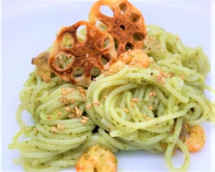 ハチ食品 クイックパスタ バジル パスタソース 生タイプ 2人前 袋 2021 japanese-pasta-sauce-hachi-shokuhin-quick-pasta-basil-homemade-22-2021