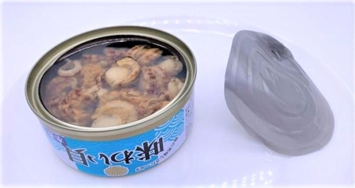 ネクストレード 味わい貝 水煮 缶詰 防災備蓄品 食料 2021 japanese-canned-food-nextrade-ajiwai-kai-water-boiled-shellfish-2021