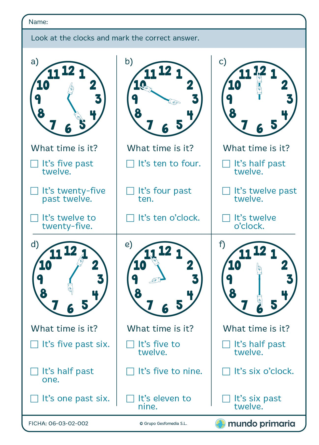 Worksheets Telling Time Show And Text