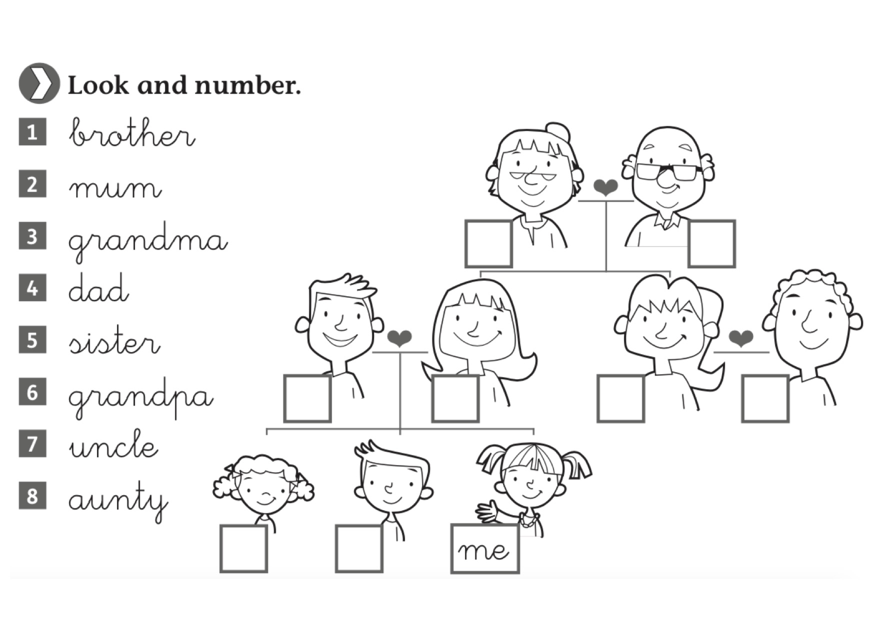 Vocabulary Worksheets Show And Text