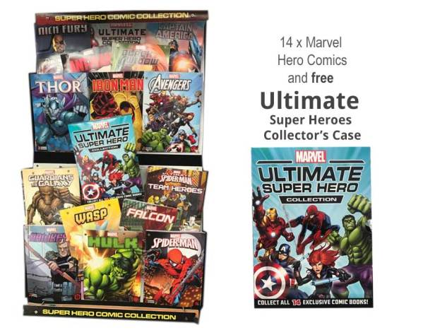 Marvel Heroes Comic Collectors