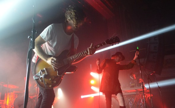 The Faint performing in November at The Regency Ballroom