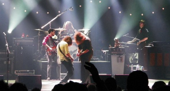 My Morning Jacket performing at The Wiltern in September