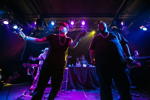 El-P & Killer Mike as Run The Jewels - Photo by James Nagel