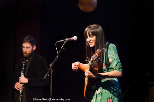 Diana Gameros performing
