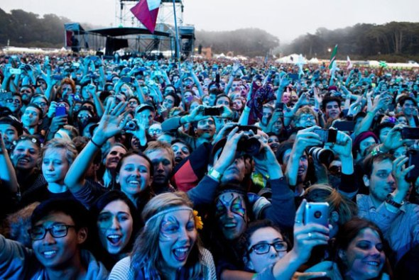 Outside Lands fans
