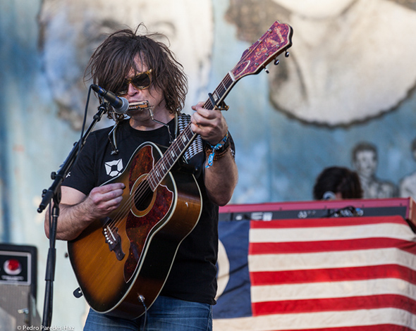 Ryan Adams headlining The Banjo Stage on Friday