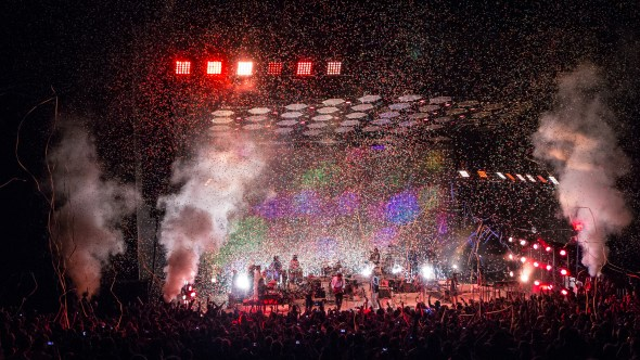 Arcade Fire at Shoreline Amphitheater // Photo by Justin Yee