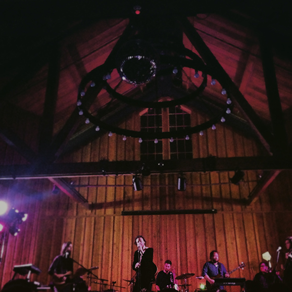 Father John Misty at Bret Harte Hall in Felton, CA // Photo by Carrie Frash
