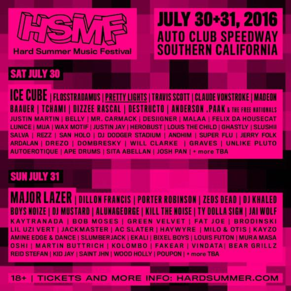 HARD Summer 2016 lineup