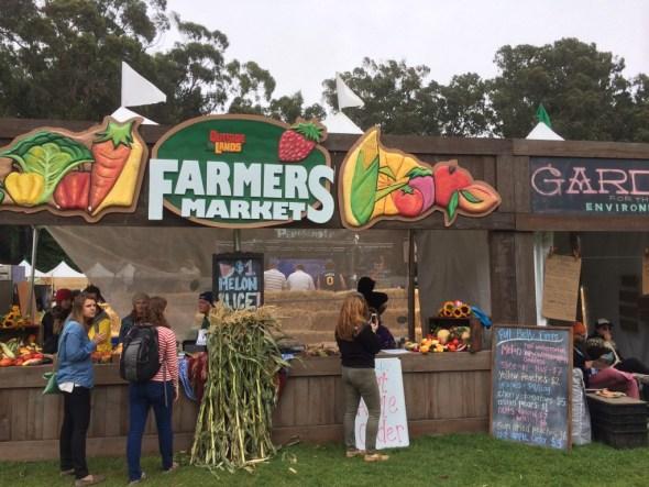 Outside Lands 2016 - Farmers Market